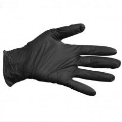 Nitril Handschuhe Schwarz (S)